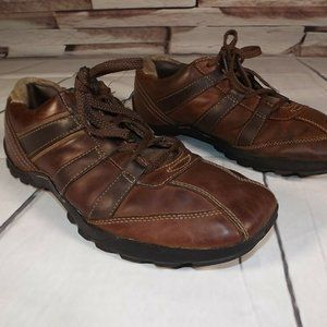 Skechers Mens Sz. 10.5 Brown Relaxed Step Casual